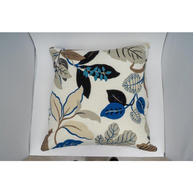 Bespoke Floral Pillows - a Pair For Sale In West Palm - Image 6 of 11