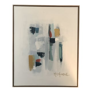 Framed Abstract Contemporary Painting