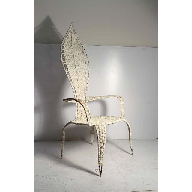 Mid 20th Century Tropi-Cal Danny Ho Fong and Miller Fong Mid-Century Modern Garden Patio Chair For Sale - Image 5 of 9