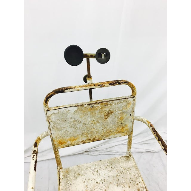 Vintage Medical Chair For Sale - Image 4 of 7
