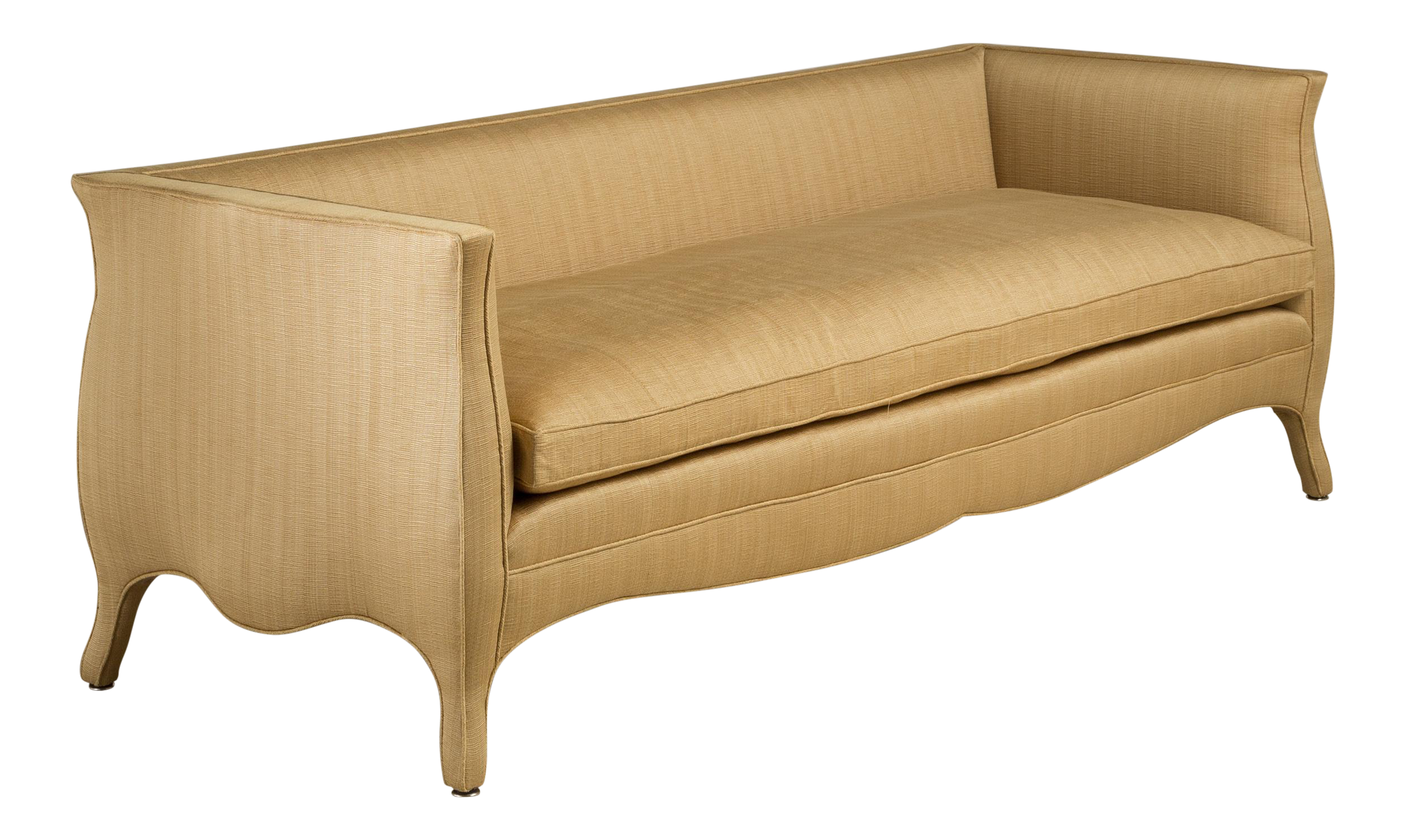 Fine A Standard Customizable High Back French Style Sofa By Talisman