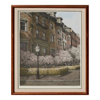 Magnolia, Beacon Hill Boston by John Colette For Sale