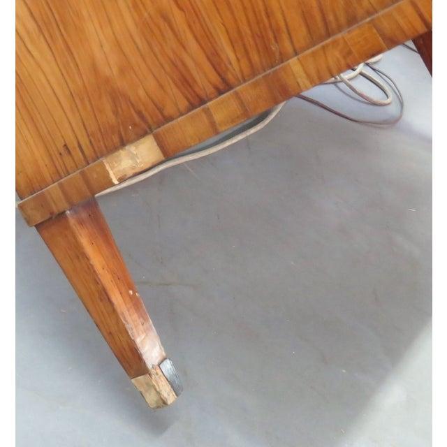 19th C. Biedermeier Cylinder Desk - Image 10 of 10