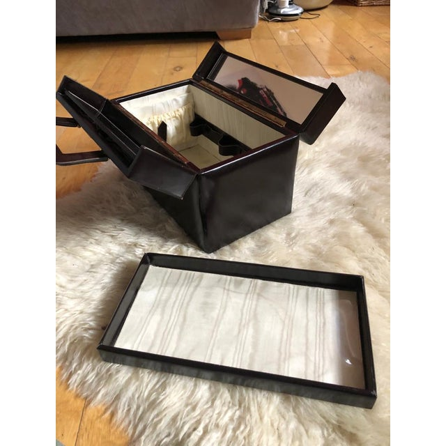 Mid 20th Century Vintage Travelling Leather Vanity Case, 1960-1970 by Asprey For Sale - Image 10 of 12