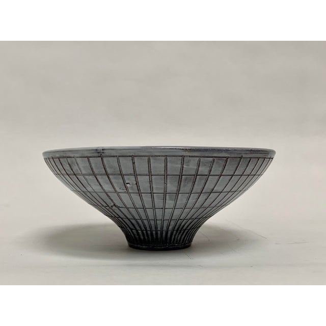 Mid-Century Modern Bitossi Mid Century Modern Ceramic Console Bowl For Sale - Image 3 of 13