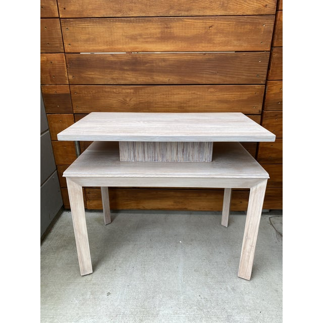 Whitewashed Side Table by Paul Frankl For Sale - Image 13 of 13