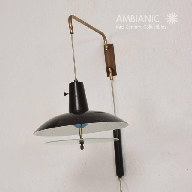 1950s Mid-Century Modern American Wall Sconce For Sale - Image 5 of 7