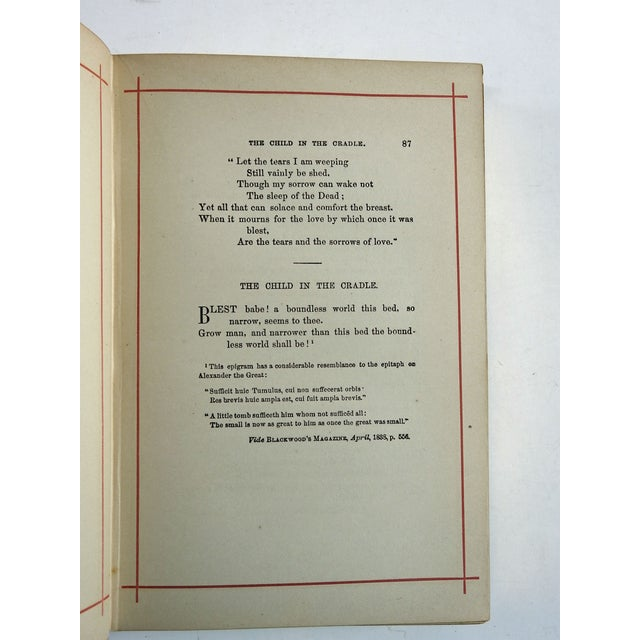 Poems & Ballads of Schiller, 1880 - Image 5 of 6