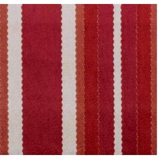 Duralee Hunterdon Red & Clay Stripe Fabric - 1 Yard Preview