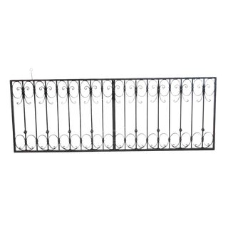 Wrought Iron Decorative Gate For Sale