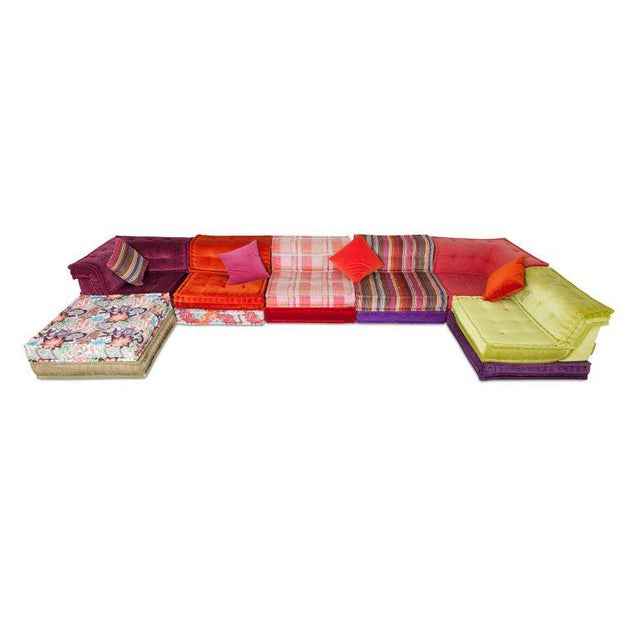 Red Mah Jong Modular Composition Sofa in Missoni Home for Roche Bobois For Sale - Image 8 of 13