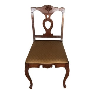 Vintage Side Dining Chair For Sale