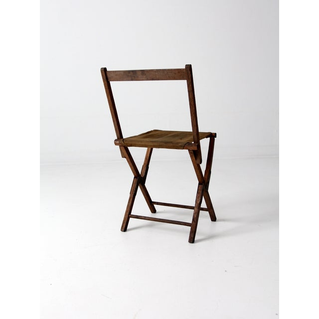 Vintage American Folding Camp Chair - Image 4 of 7