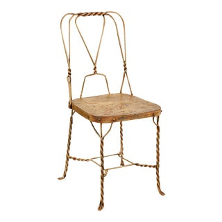 Iron Bistro Dining Chair