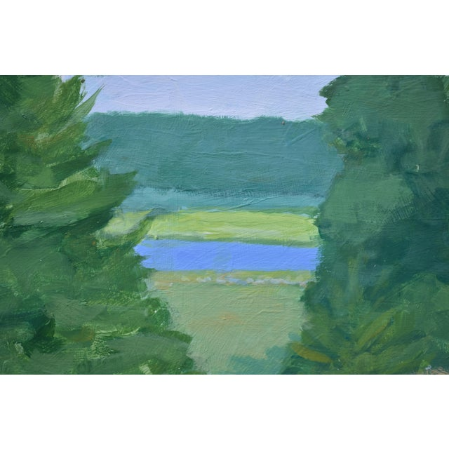 Pastoral Plein Air Contemporary Paintings by Stephen Remick - Set of 3 For Sale - Image 10 of 13