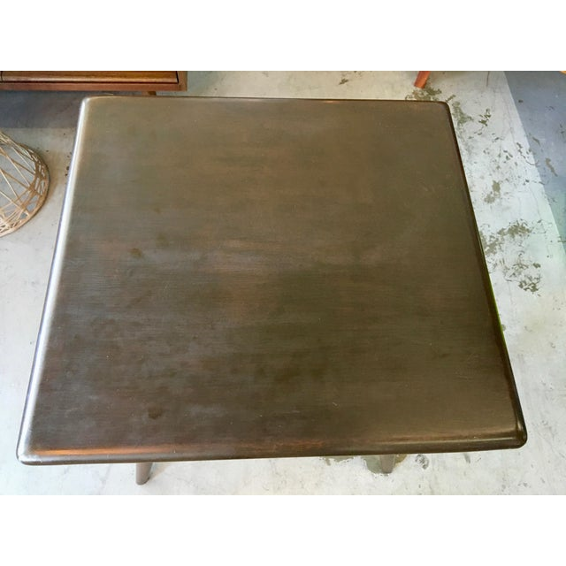 Heywood Wakefield Side Table For Sale - Image 10 of 13