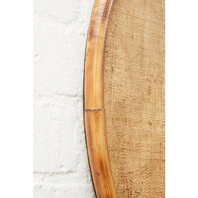 Modern JW Limited Edition Custom Line Bamboo Mirror For Sale - Image 3 of 5