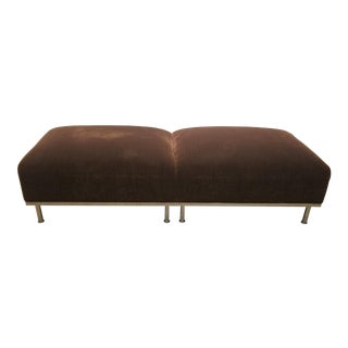 Mid-Century Modern Bench