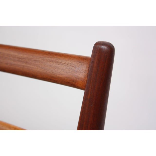 Italian Modern Carlo De Carli Walnut and Leather Lounge Chair and Ottoman For Sale - Image 10 of 13