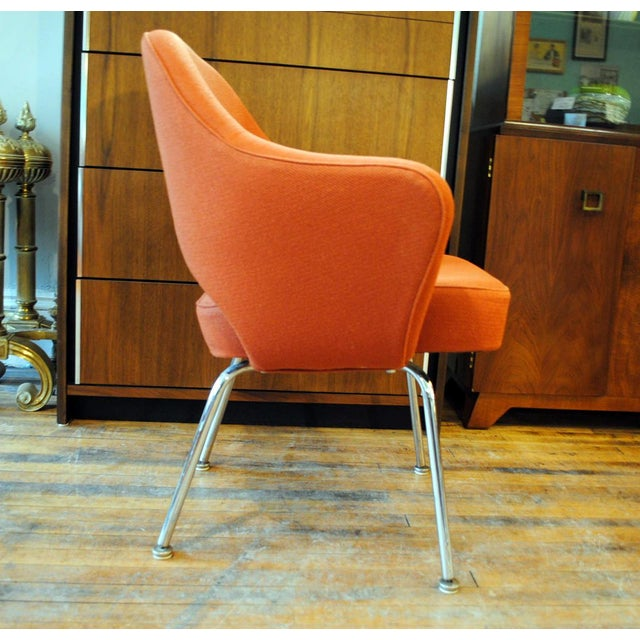 Mid Century Executive Armchair by Eero Saarinen for Knoll-1960's - Image 2 of 12