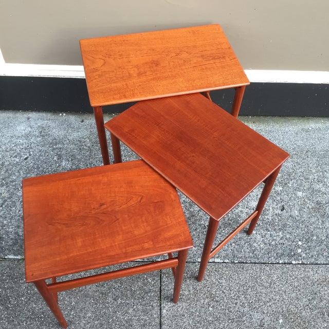 Hans Wegner Nesting Tables - Set of 3 - Image 11 of 11