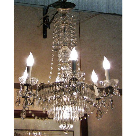 GORGEOUS Vintage Crystal Chandelier by Schonbek…….a Swarofski Subsidiary. From circa 1971. Comes with Original paperwork...