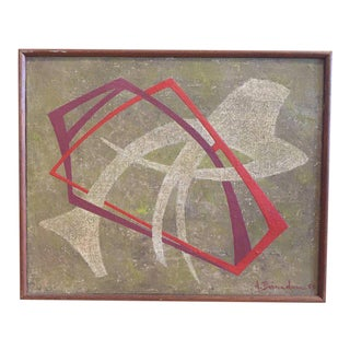 André Bernadou Untitled Abstract, 1963 For Sale