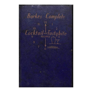 Burke's Complete Cocktail and Tastybite Recipes For Sale