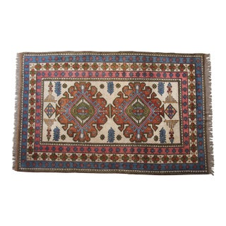 "Anatolian Kars Wool Rug- 6'11.5"" x 10'7"" For Sale"