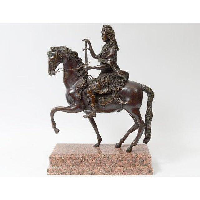 Bronze Rider on Horseback - Image 2 of 4
