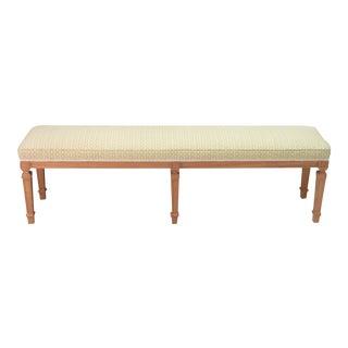 Biedermeier Style Backless Bench