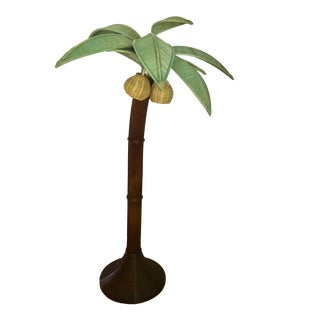 1960s Mario Lopez Torres Palm Tree Floor Lamp For Sale