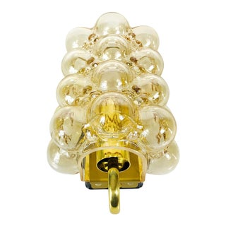 Midcentury Bubble Glass Wall Lamp by Helena Tynell for Limburg, 1960s For Sale