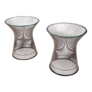 Early Side Tables by Warren Platner for Knoll, 1966 - a Pair For Sale