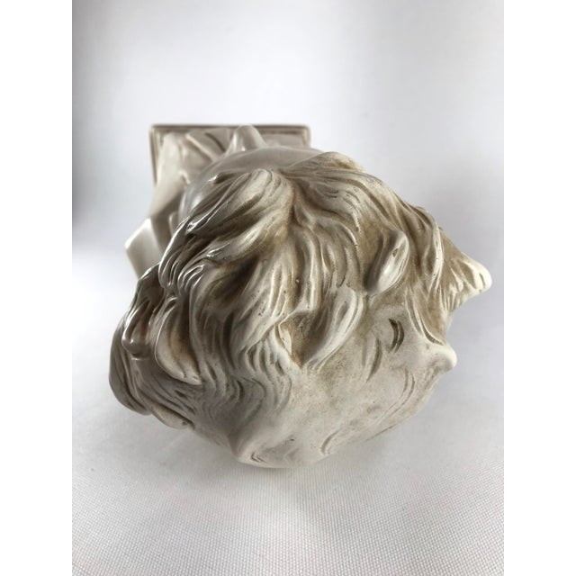 White 20th Century Contemporary Alexander Backer Co Ivory Colored Beethoven Bust For Sale - Image 8 of 11