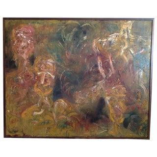 """""""Elders"""" Oil Painting"""