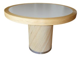 Image of Newly Made Wood Dining Tables