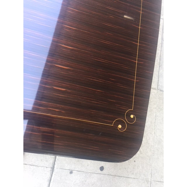 1940's French Deco Writing Table For Sale - Image 4 of 12