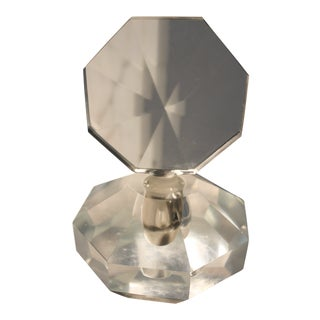 Art Deco Crystal Perfume Bottle
