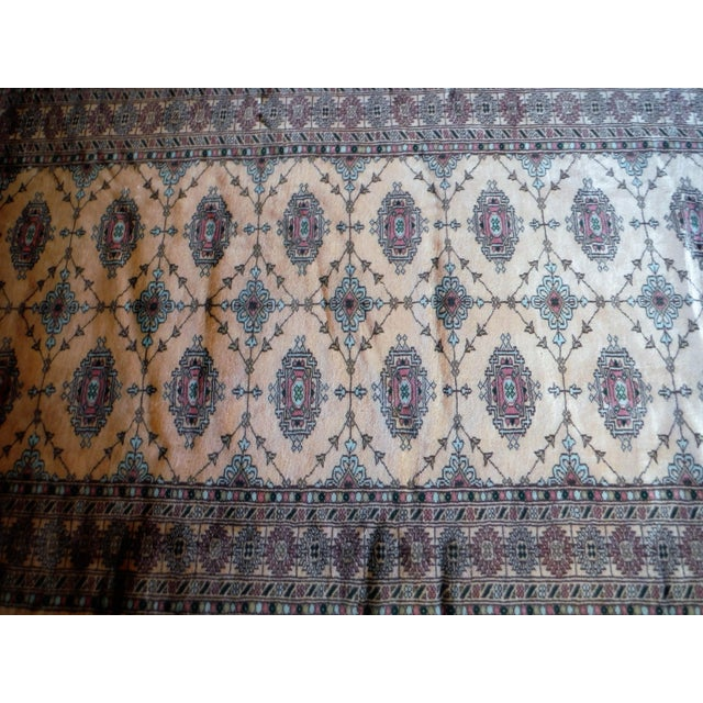 Knotted Persian Oriental Rug - 3′5″ × 8′2″ - Image 7 of 9