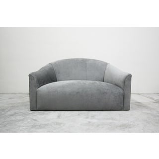 Vintage Oversized Italian Lounge Chair Loveseat Sofa Preview