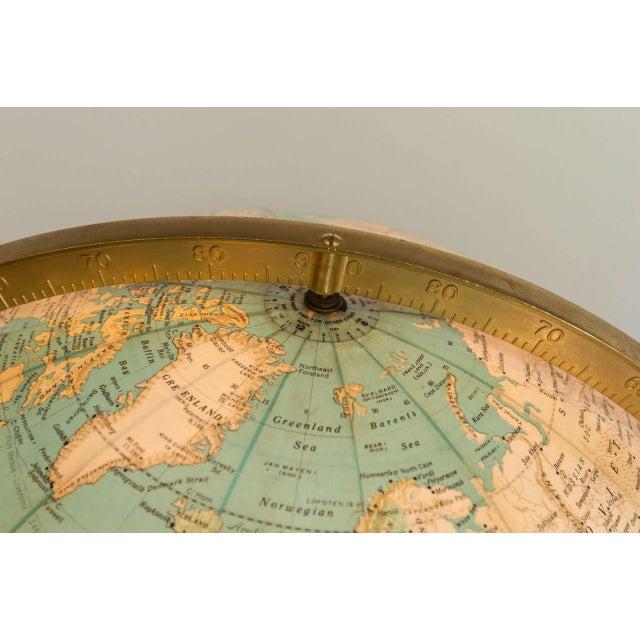 Modern Dunbar Illuminated Terrestrial Globe For Sale - Image 3 of 8