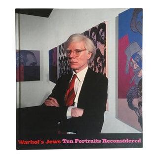 """Warhol's Jews 10 Portraits Reconsidered"" 1st Edtn Exhibition Art Book"
