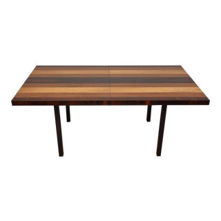 Milo Baughman Directional Dining Table & Leaves