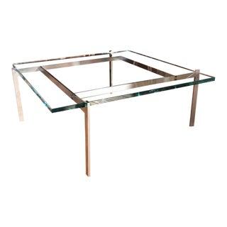 Poul Kjaerholm for Fritz Hansen Pk61 Coffee Table