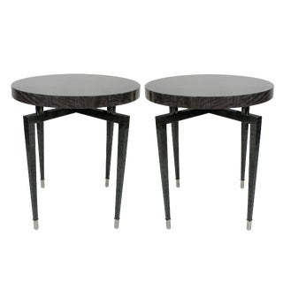 Pair of Bespoke Side Tables For Sale