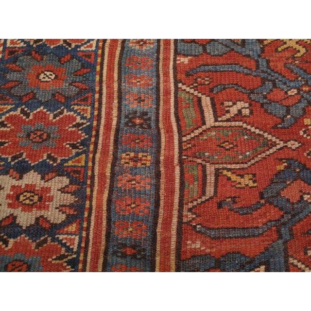 Textile Antique Oushak Carpet For Sale - Image 7 of 8