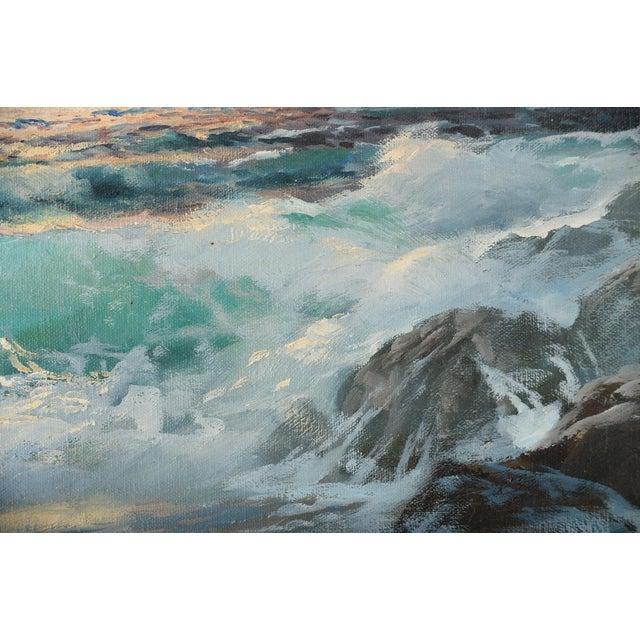 California Shoreline, Oil Painting by A. Dzigurski - Image 6 of 10