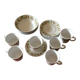 Noritake Progression Homecoming China - 16 Pieces For Sale