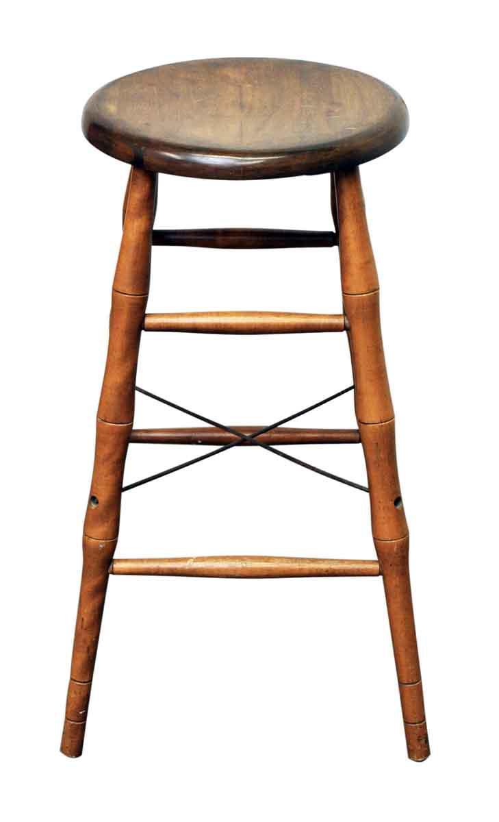 Bamboo Stool Chairish